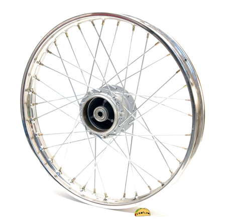 Puch Moped New 17 Rear Spoke Wheel With Sealed Bearings