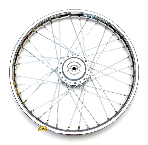 Puch Moped New 17 Front Spoke Wheel With Sealed Bearings
